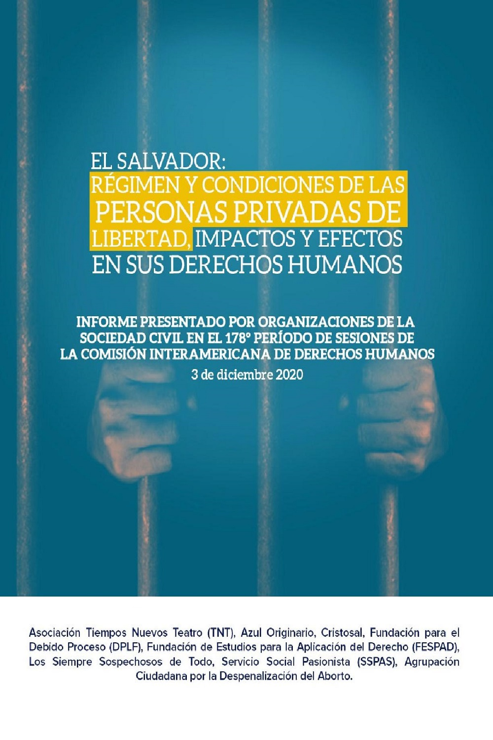 Regime and conditions of persons deprived of liberty. Impacts and effects on their human rights (Spanish)
