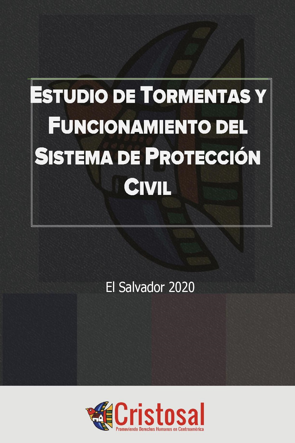 Study of storms and operation of the civil protection system (Spanish)