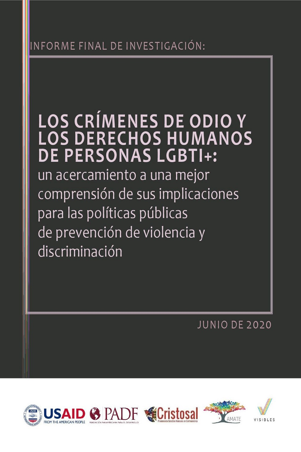 Hate crimes and the human rights of LGBTIQ+ people (Spanish)